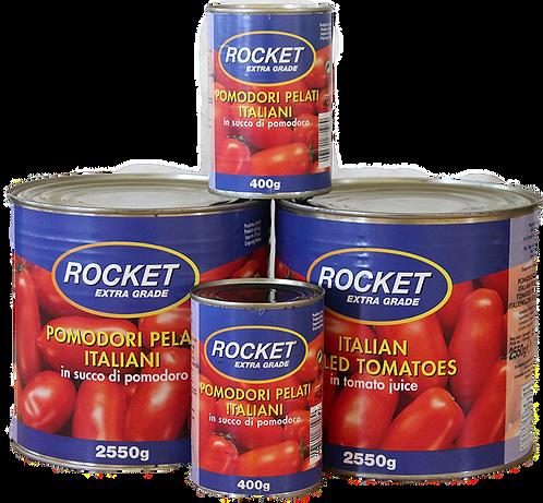 Rocket Whole Peeled Tomatoes  easy open (400g)