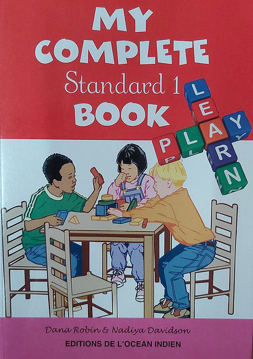 My Complete Book Learn /Play Std 1 / Grade 1
