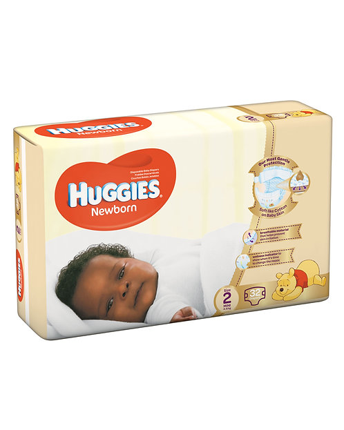 Huggies Newborn Size 2 (X 32)