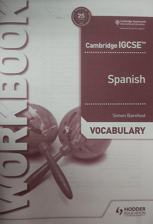 Spanish Vocabulary Workbook