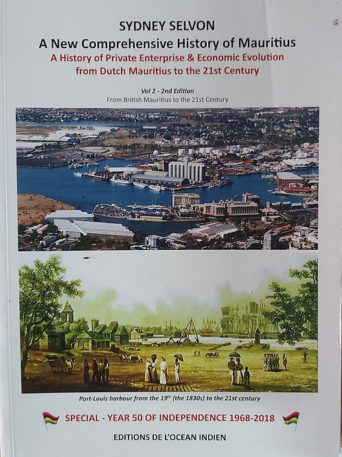 A New Comprehensive History Of Mauritius Vol 2 2Nd (Hardcase)