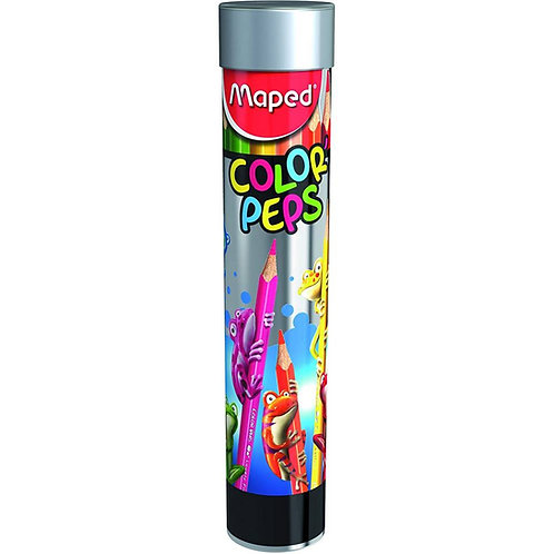 Maped Pencils Color'Peps (Metal Tube Of 12)
