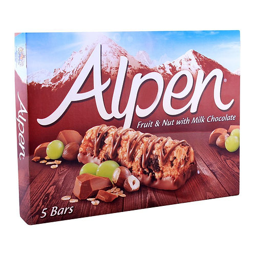 Alpen Bars Fruit, Nut & Chocolate (box of 5x28g)