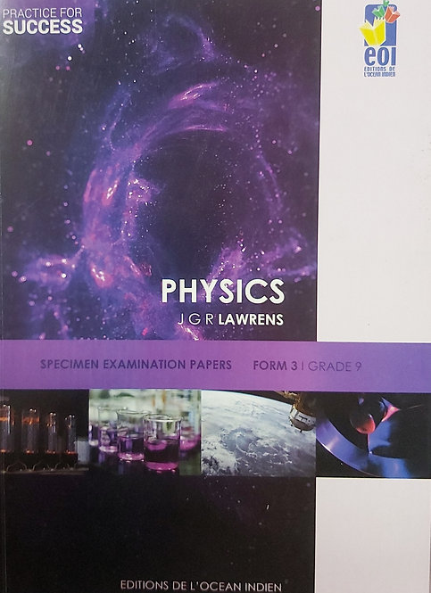 Practice For Success Physics -Form 3 /Grade 9