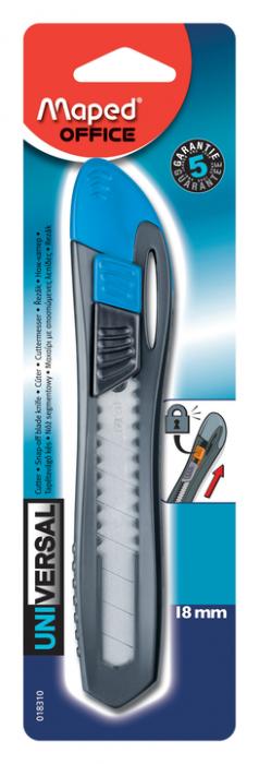 Maped Cutter Universal Plastique 18mm Blister