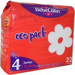 Bebecalin Eco Pack Medium - Junior X 22 (12-25Kg)