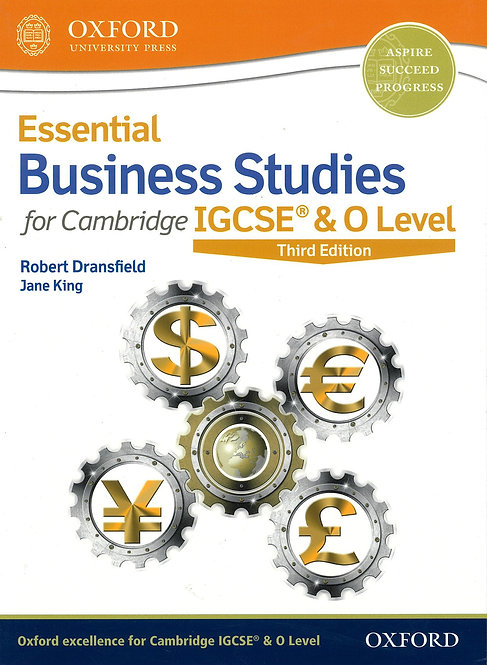 OUP - Essential Business Studies IGCSE & O Level 3rd Ed