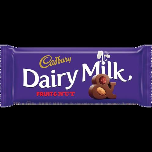 Cadbury Fruit And Nut 150g