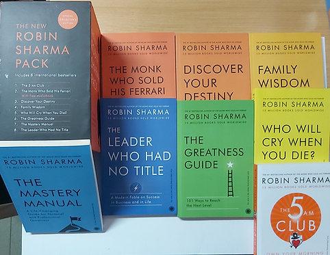 Robin Sharma Pack - 8 Books