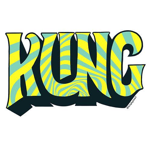 Kung Sticker