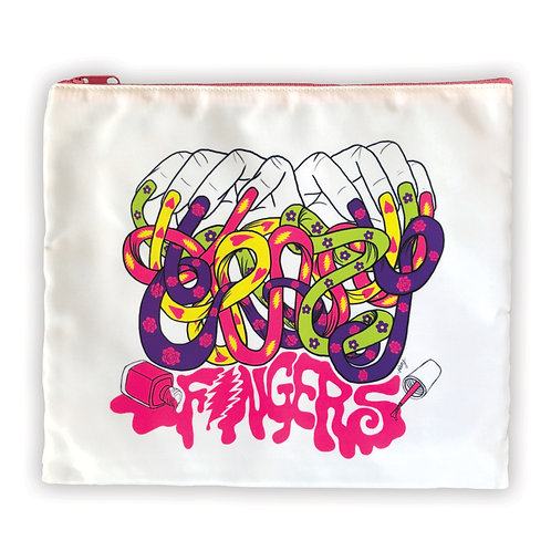 Crazy Fingers Cosmetic Bag