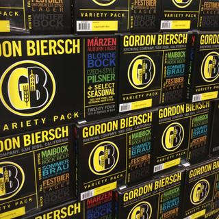 Gordon Biersch Packaging Design