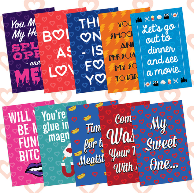 Phish Valentines Cards