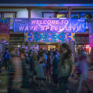 Wave Spell Festival Signage