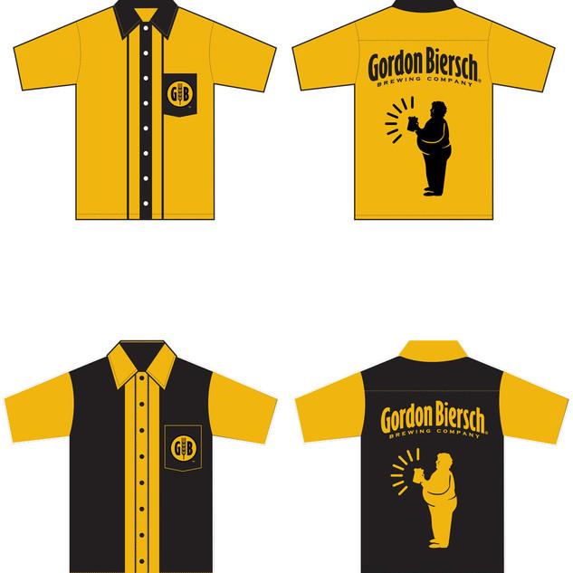 Gordon Biersch Bowling Shirts