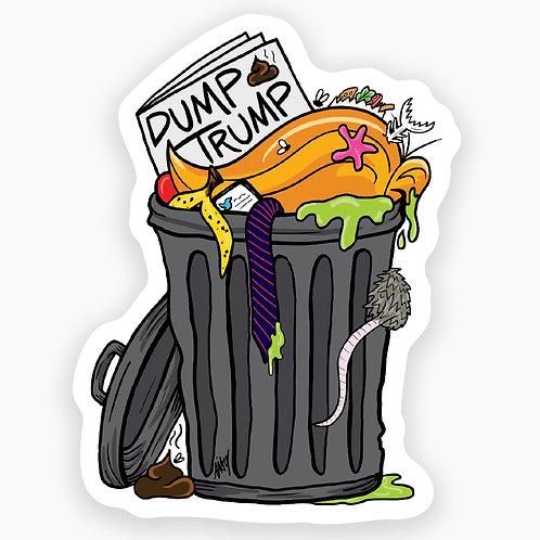 Dump Trump Sticker - 2 pack