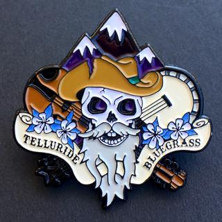 Telluride Bluegrass Festival 2017 Pin