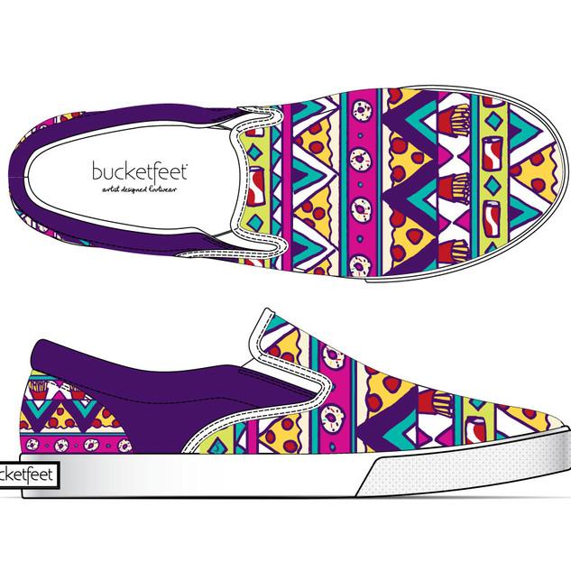 Bucketfeet Shoe Design
