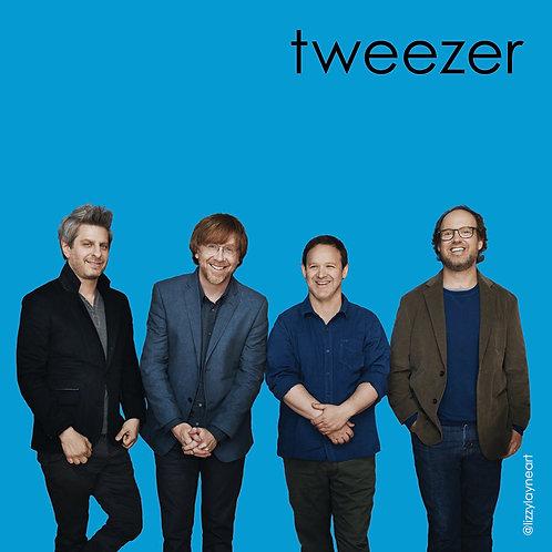 Tweezer Sticker