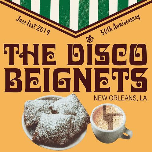 The Disco Beignets Sticker