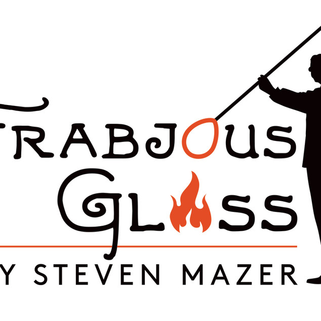Frabjous Glass Logo Design