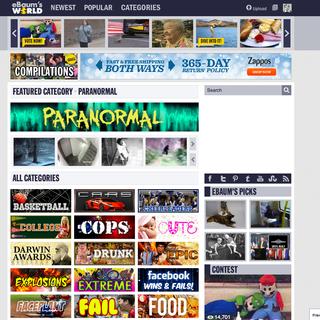 eBaum's World Website Design