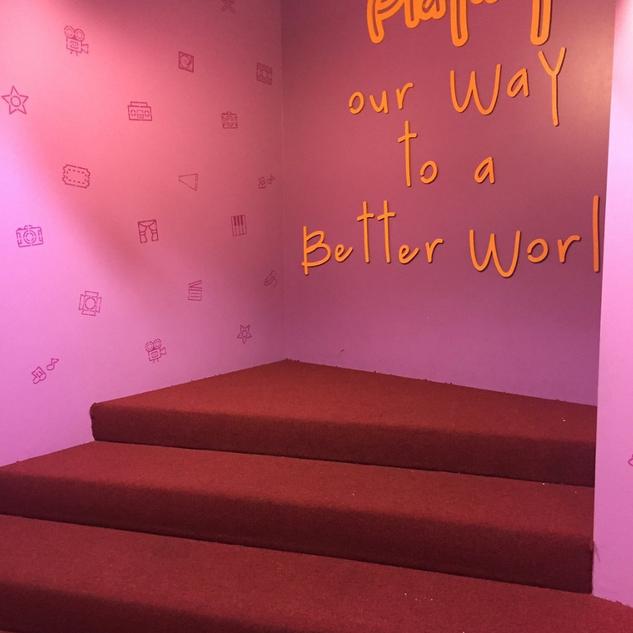 Wall Design for Zimmer Children's Museum