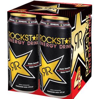 Rockstar Energy Drink Packaging Design