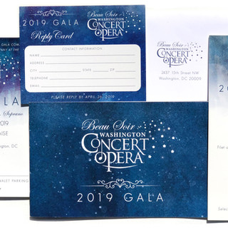 Washington Concert Opera Gala Design