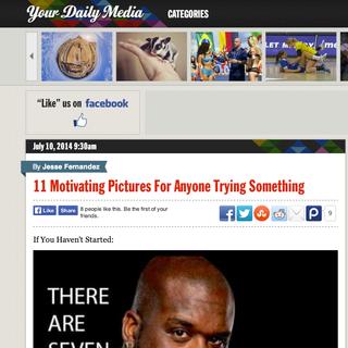 Your Daily Media Website Design