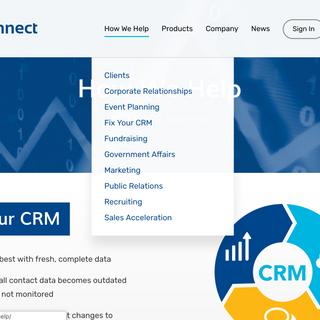 Leadership Connect Website Design