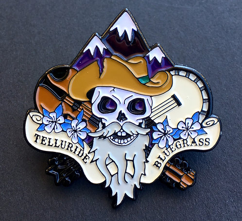Telluride Bluegrass Festival Pin