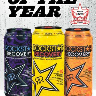 Rockstar Energy Drink Ad Design