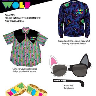 Meow Wolf Merchandising