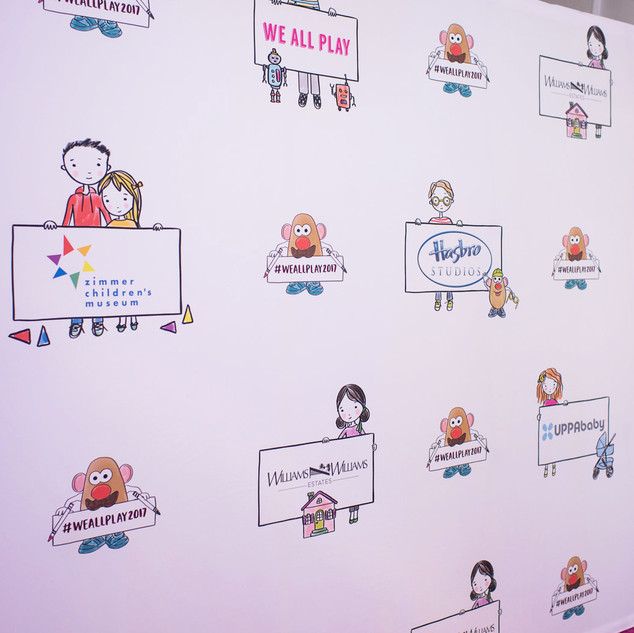 Step and Repeat Wall Design