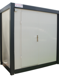 """""""קלאסי""""- מבנה שירותים ומקלחת מידת מבנה: 130/220 ס""""מ"""