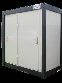 """מעלות מבנים- """"קלאסי"""" כפול- מבנה שירותים ומקלחת מידת מבנה: 130/220 ס""""מ"""