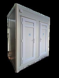 מעלות מבנים- מבנה שני תאי שירותים נייד
