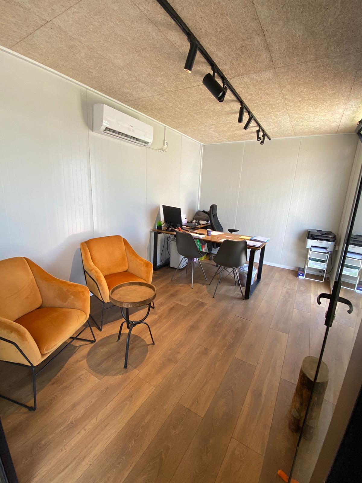 מבט פנימי משרד מעוצב