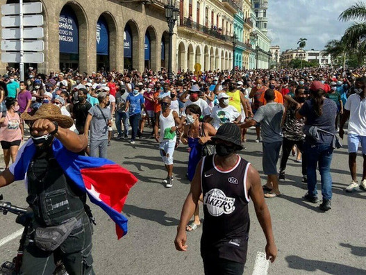 За Кубинскую революцию - против бюрократии и империалистов!