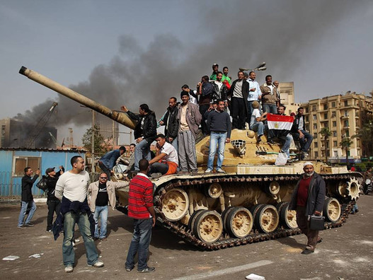 Египетская революция — 18 дней, которые потрясли мир