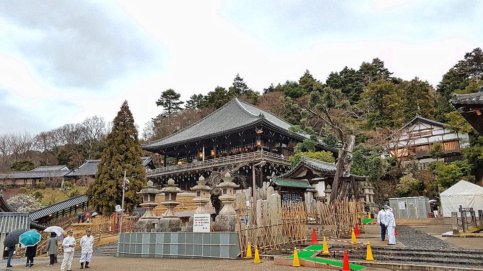 nigatsu-do, nara, japon, japan