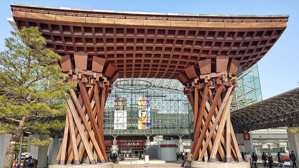estacion de kanazawa, kanazawa station