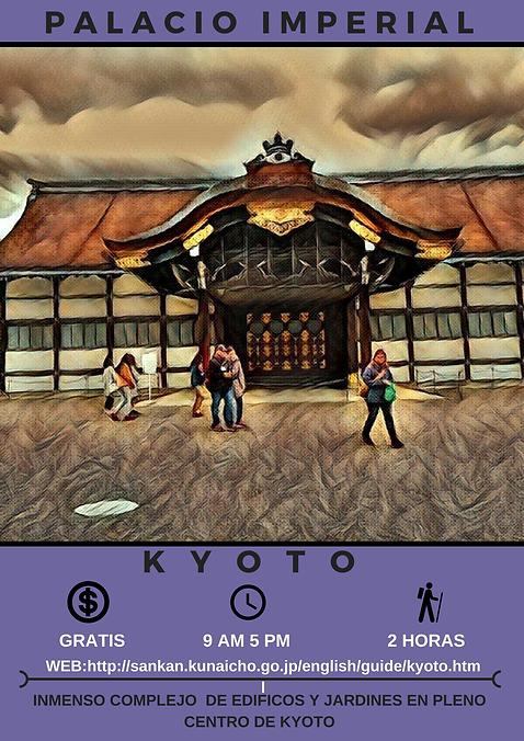 Palacio Imperial  京都御所
