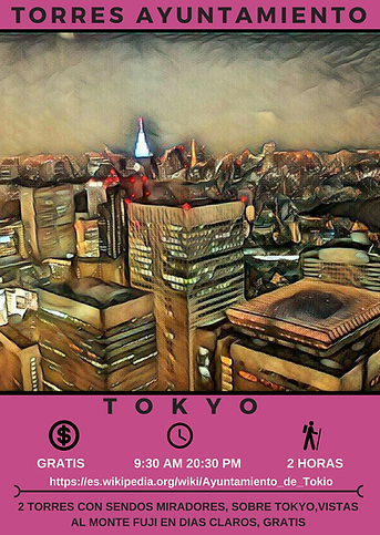 FICHAS AYUNTAMIENTO TOKYO