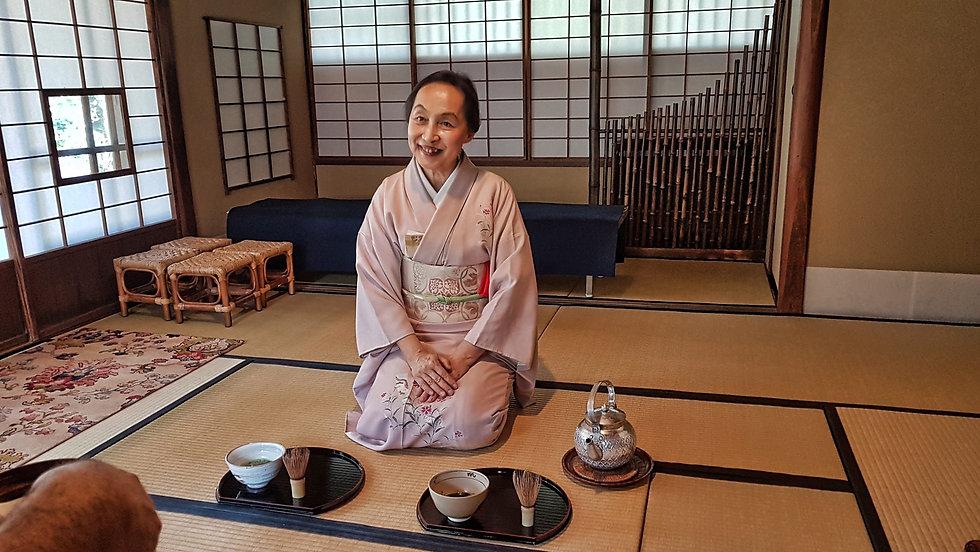 gyokusen-immaru garden, jardin gyokuse-immaru , ceremonia del te