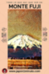 poster monte fuji