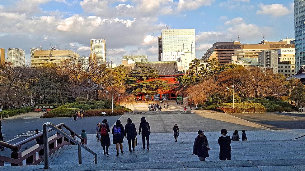 zojoji, templo, temple, tokio, tokyo