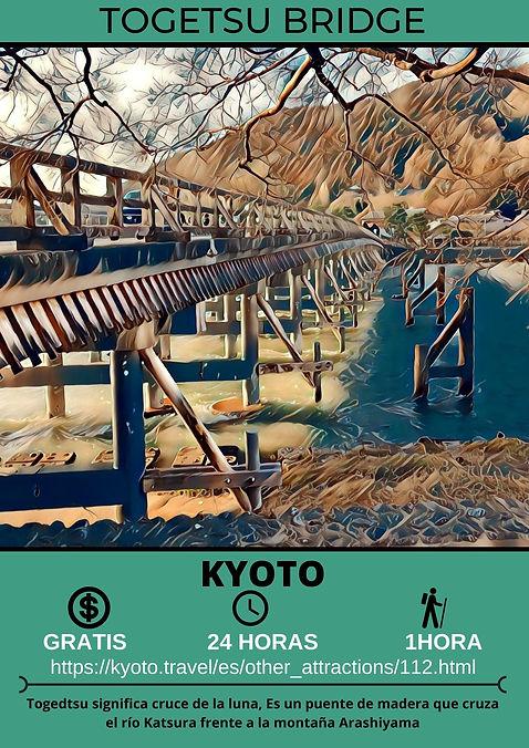Togetsu Bridge  渡月橋
