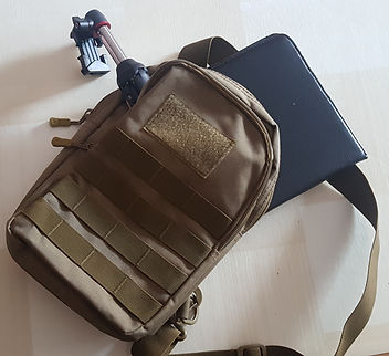 mochila cruzada